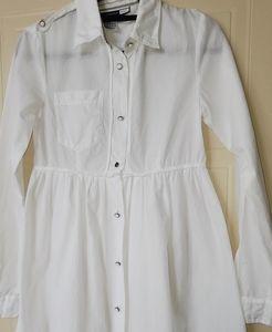 MaxMara Sportmax Code white shirt-dress